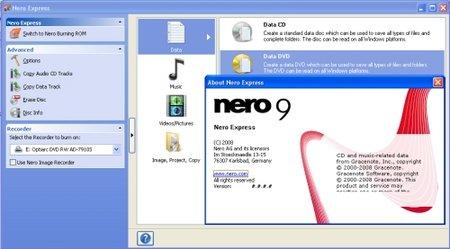 Nero 9 download plná verze zdarma.